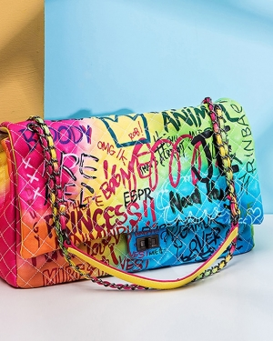 Graffiti Women's Tote Bag Handbag